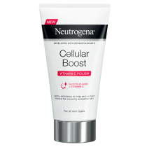 Neutrogena® Cellular Boost Κρέμα απολέπισης προσώπου με Βιταμίνη C