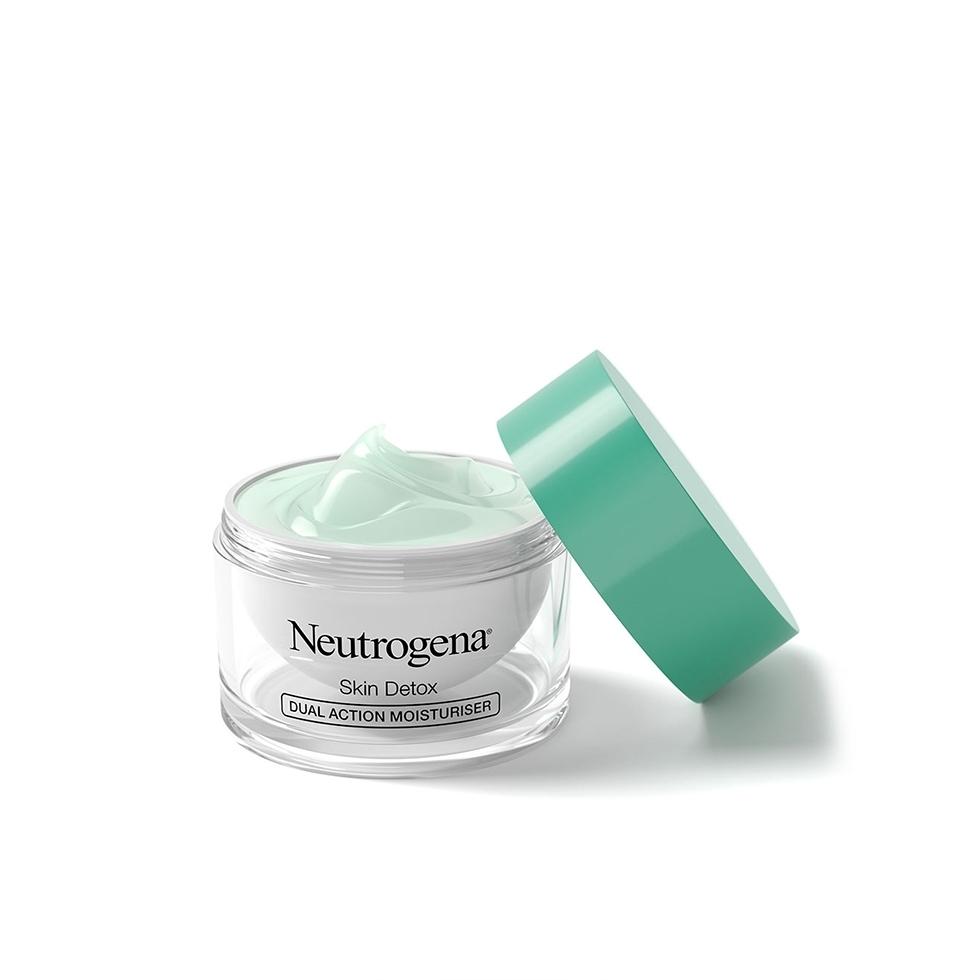 Neutrogena® Skin Detox Ενυδατική Κρέμα Προσώπου Διπλής Δράσης